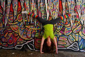 Split Handstand