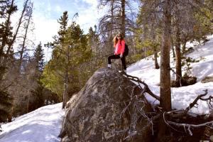 fist hike boulder